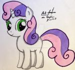 Sweetie Belle by Mr-skylineR34