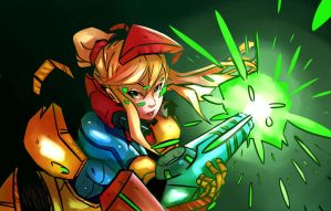 Samus by littlefoxproductions