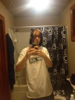 When I was going 2 dye the front of my hair purpl by DarkendDrummer