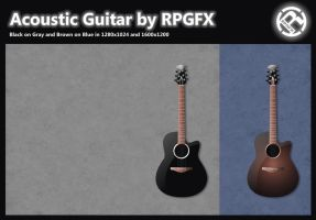 Acoustic Guitar by RPGuere