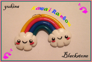Kawaii Rainbow Charm by yukinaaa