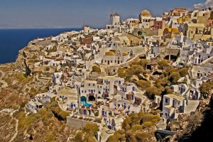 Santorini by Yousry-Aref