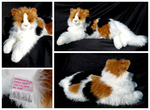 Douglas Cuddle Toys - Patches Calico Cat by The-Toy-Chest