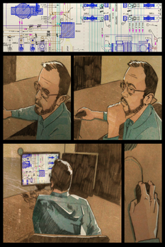 Responsive Comic Sequence by rmansperger