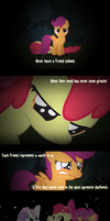 Never Leave A Friend Behind by AgryX
