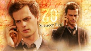 Doctor Spencer Reid wall by Anthony258