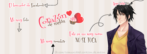 Facebook Cover #14 ~ Amour Sucre - Viktor by MichelleMegurine