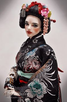 Geisha 01 by amadiz