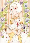 White Rabbit Girl by silentillusion