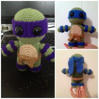 Amigurumi Teenage Mutant Ninja Turtle Doll by Chebk