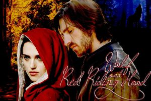 Red Riding Hood and Wolf by RischaMorgan