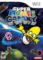 Super Homer Galaxy by andre1007