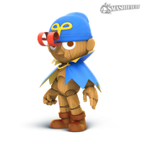 Geno Smashified (Transparent) by hextupleyoodot