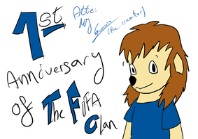 :THF: Fisrt anniversary of The FIFA Clan by MundienaDog