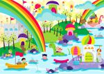 rainbow land by simplyphi