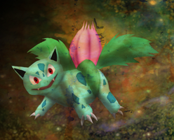 PKMN: Ivysaur Trade by transylvaniandreams