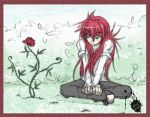 Kurama rose by youkokurama1