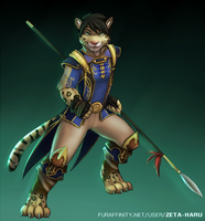 Chinese Warrior by Zeta-Haru