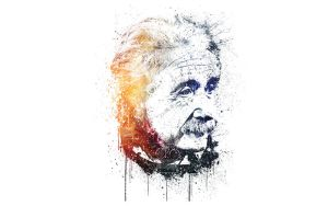 Albert Einstein by icantfindone