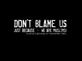 Dont Blame Us by Psychiatry