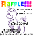 Glow Pug Custom Raffle! [OPEN] by Nuperjo