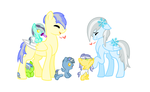 Glass and Moons' family by HowlingWolf64