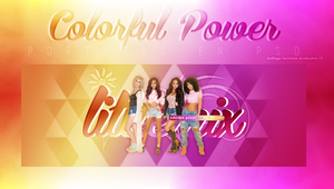 Little Mix Colorful Power 1 by BitchesImAwesome