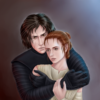 [reylo] Death and the Maiden by TrashedBarbie