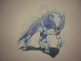 Rahn, The Arctic Wolf~Commission by MarciaProductions