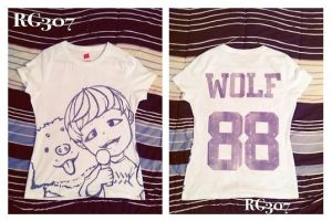 WOLFxMAMA Shirt ft. Baekhyun by rahaina
