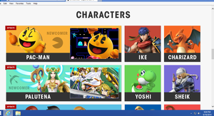 PACMAN OFFICAL FOR SMASH BROS 4!!!!! by Broxome