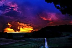 after the thunderstorm by swissloko