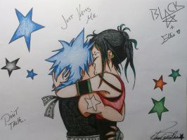 ....Black*Star And Ellie.... First Kiss by ChieriCenterNova