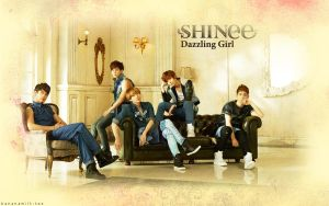 SHINee Dazzling Girl Wallpaper by bananamilk-tae