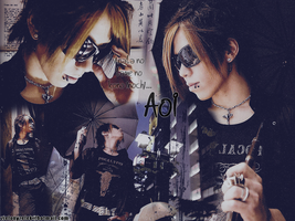 Aoi from The GazettE by Nyaa-nya