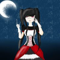 Vampire Night :3 by EllaDarkWolf3