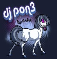 Dj Pon3 horsey version by Adlynh