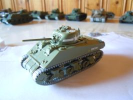 M4 A1 Sherman by warrior1944