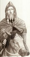 Odin Rides on the Northland by Satanoy