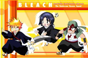Bleach:The Rukia Rescue Squad1 by MajoraEmpress