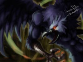 Crowbeast by LuciaPilou