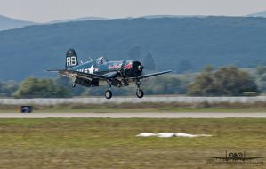 Vought F4U-4 Corsair OE-EAS by Thunderbolt120