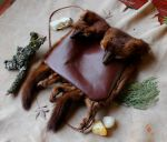 Two Mink bag by lupagreenwolf