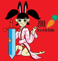 Kimiko Year of the Rabbit by MasterghostUnlimited
