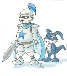 White Knight and Gabo by RevlientBash