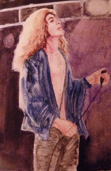 Robert Plant by CamelCase