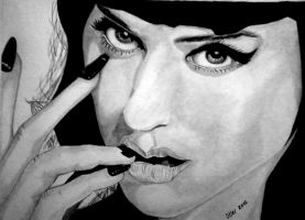 Katy Perry Black and White by SrOller