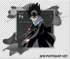 Skin Photoshop Hiei Jaganshi by tutozTAIGA