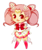 Sailor Chibi Moon by mjoyart