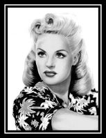 Betty Grable by tainted-orchid